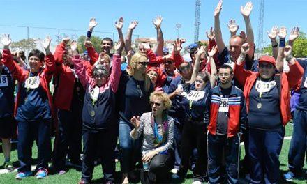 El centro de Martos 'La Peña' salda su participación en los Juegos Provinciales de Deporte Especial con un total de 12 medallas