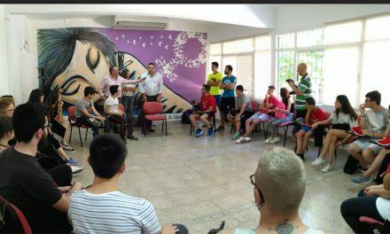 Cerca de 40 jóvenes participan en el Encuentro Provincial de Corresponsales Juveniles