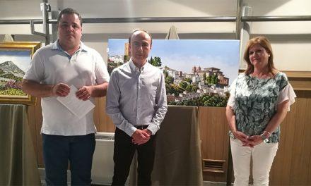 Inaugurada la muestra de José Domínguez 'Martos, rincones y paisajes'
