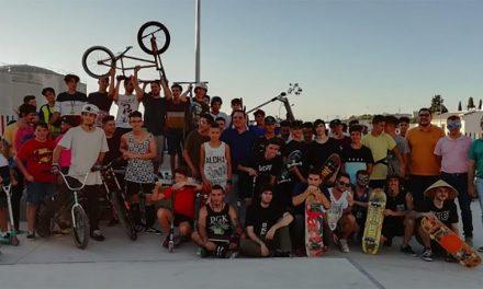 Inaugurada la pista de skate en Martos