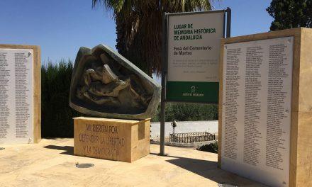 Las Fosas Comunes del Cementerio de Martos, en el Inventario de Lugares de Memoria Histórica de Andalucía