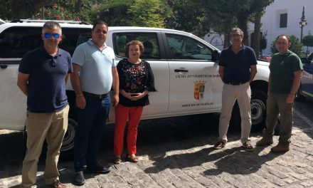 Nuevo vehículo para cubrir todas las necesidades del área de Jardinería
