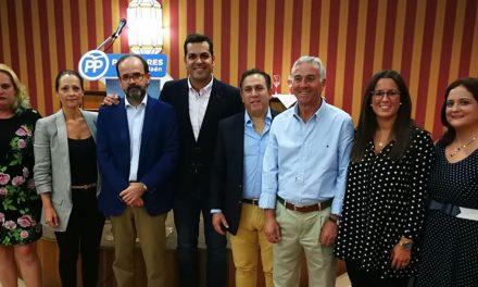 Javier Ocaña, cabeza de lista del PP de Martos para las municipales de 2019
