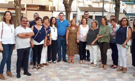 Mejora urbanística de la ciudad de Martos con la remodelación de seis plazas y zonas ajardinadas