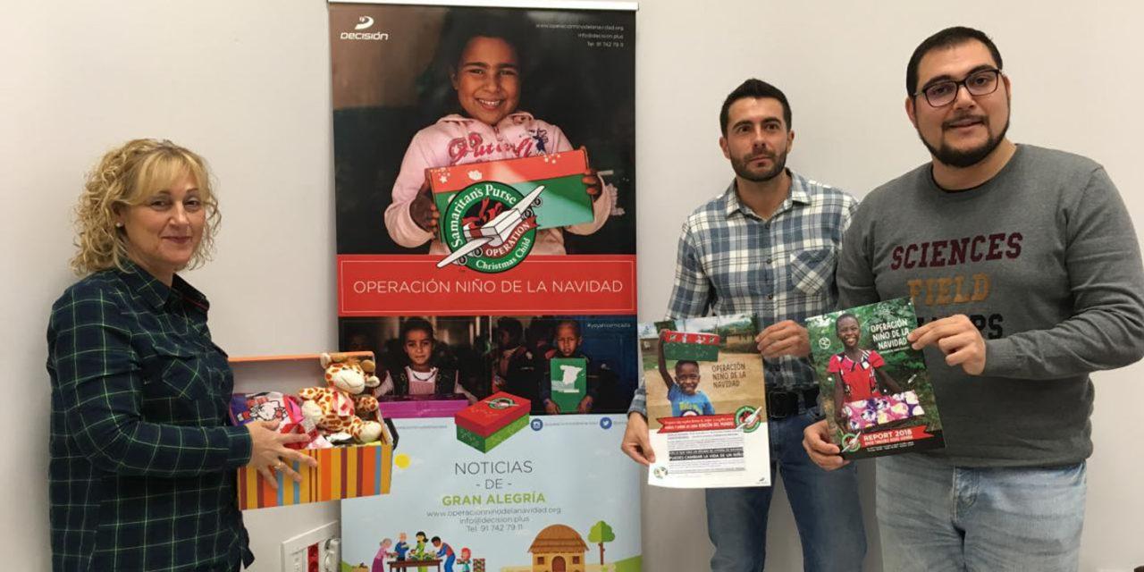 La Operación Niño de la Navidad recogerá cajitas solidarias con juguetes y material escolar para los más necesitados