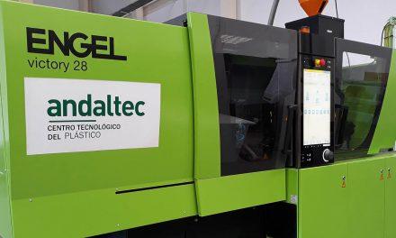 Andaltec amplía su capacidad de diseño y desarrollo de plásticos técnicos con la adquisición de una nueva inyectora