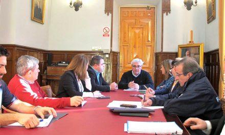Coordinación entre instituciones para la puesta en marcha del parque de bomberos de Martos