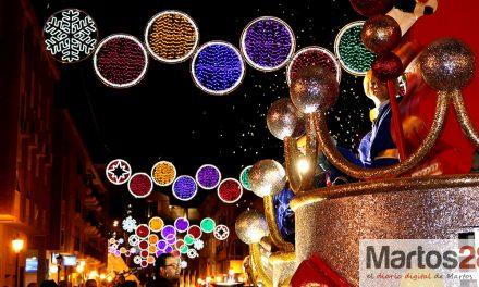 Así vivió Martos su mágica Noche de Reyes