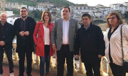 Diputación valora la apuesta de Martos por revitalizar su casco antiguo