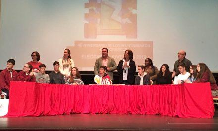 Julia Rodríguez, del Partido Socio-Equitativo, proclamada alcaldesa juvenil de Martos