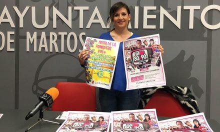 Martos prepara para sus jóvenes la 'Fiesta de la Primavera' con 'We love 80&90'