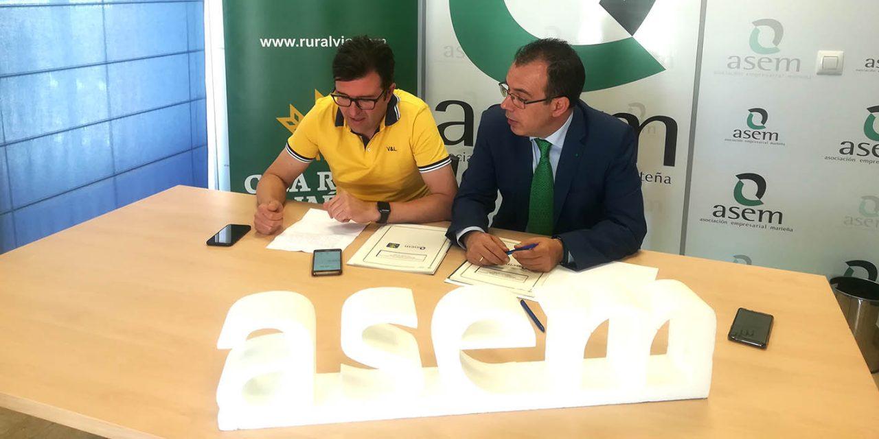 ASEM renueva su convenio con Caja Rural