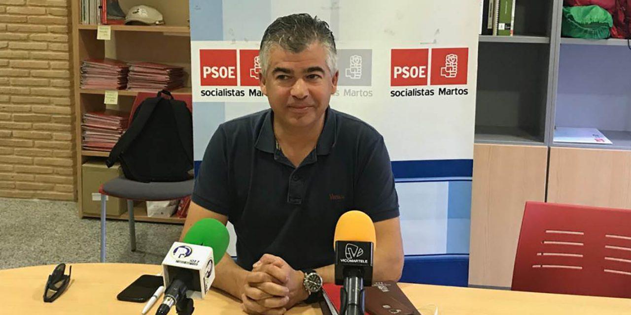 """El PSOE de Martos tacha de """"execrable"""" la renuncia de la portavoz de Ciudadanos como concejal"""