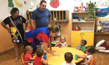 Comienza el curso escolar en la Escuela Infantil Virgen del Pilar