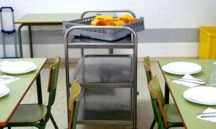 COMEDORES | Acuerdo para que la empresa Col Servicol se haga cargo de los comedores escolares este mismo mes