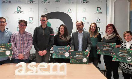 Entregados los cheques regalo de la Campaña de Navidad organizada por ASEM