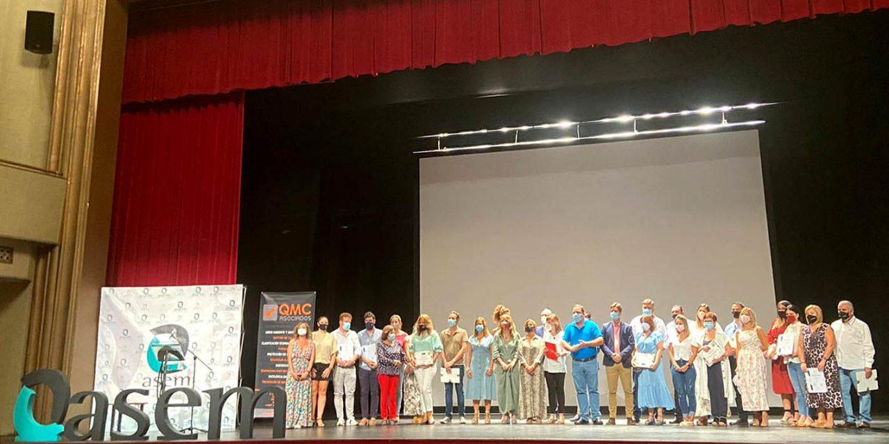 ASEM entrega los Certificados de Calidad a 20 comercios marteños