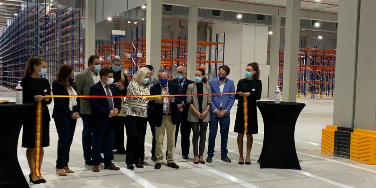El Grupo Bonilla inaugura su nuevo centro logístico en Martos