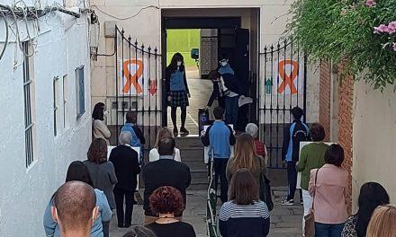 VÍDEO | Mañana de protestas contra la reforma educativa en los centros privados y concertados de Martos