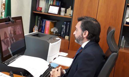 Junta y CEJ informan a pymes de la provincia sobre las ayudas de 3.000 euros al comercio, artesanía y establecimientos de restauración